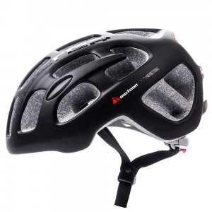 Meteor kask rowerowy BOLTER IN-MOLD BLACK - rozm.  M 55-58cm
