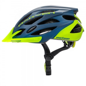 Meteor kask rowerowy MARVEN NavyBlue Green - rozm.  L 58-61cm