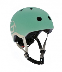 SCOOT AND RIDE Kask dziecięcy 1-5 Forest 45-51cm