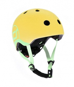 SCOOT AND RIDE Kask dziecięcy 1-5 Lemon 45-51cm