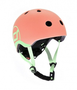 SCOOT AND RIDE Kask dziecięcy 1-5 Peach 45-51cm