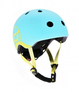 SCOOT AND RIDE Kask dziecięcy 1-5 BlueBerry 45-51cm