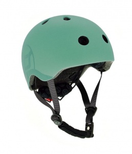 SCOOT AND RIDE Kask dziecięcy 3+ Forest 51-55cm