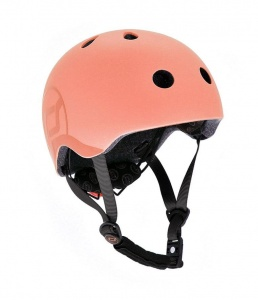 SCOOT AND RIDE Kask dziecięcy 3+ Peach 51-55cm