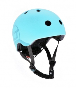 SCOOT AND RIDE Kask dziecięcy 3+ Blueberry 51-55cm