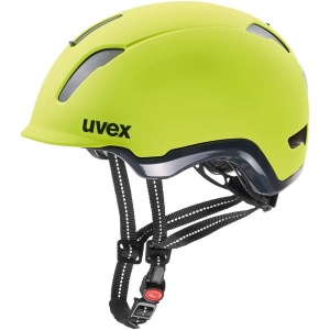 UVEX kask rowerowy City 9 - neon yellow 53-57