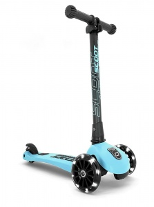 SCOOT AND RIDE Highwaykick 3 LED Hulajnoga składana 3+ Blue Berry