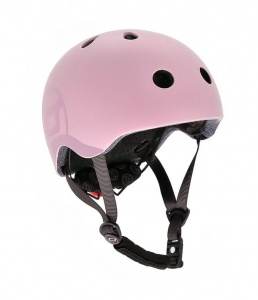 SCOOT AND RIDE Kask dziecięcy 3+ Rose 51-55cm