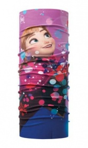 BUFF chusta bandana - Junior Frozen Anna Bright Pink