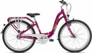 PUKY Rower Skyride 24-3 Alu Light Berry